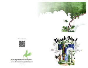 Free download of thank you card